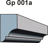 Gzymsy \ listwy podparapetowe Gp 001a