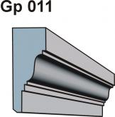 Gzymsy \ listwy podparapetowe Gp 011