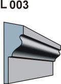 Listwa okienno podparapetowa L003